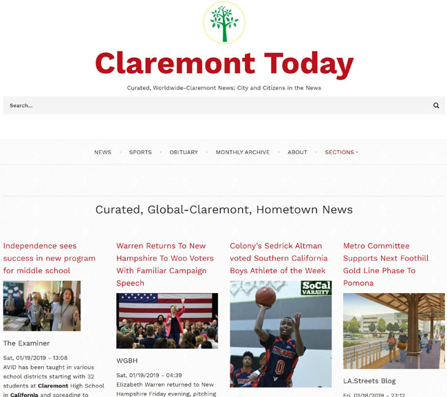 Claremont Today